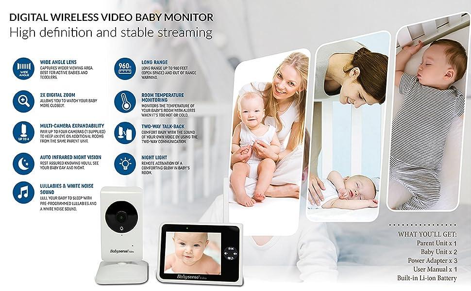 Babysense V35_2US - Reach Features
