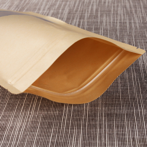 Kraft Paper Bag With Window 2