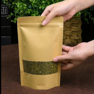 Kraft Paper Bag With Window 6