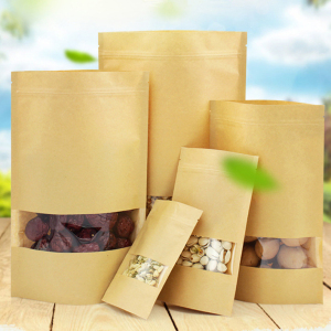 Kraft Paper Bag With Window 5