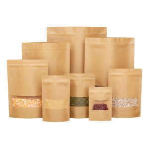 Kraft Paper Bag With Window 4