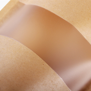 Kraft Paper Bag With Window 3