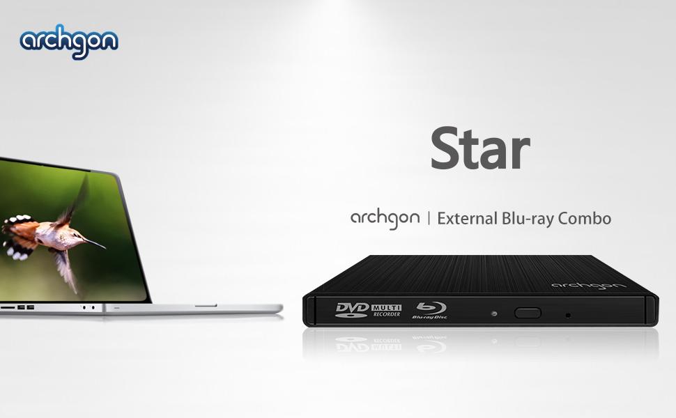 Amazon.com: Archgon md-3102s-u3 USB 3.0 External Blu-ray ...