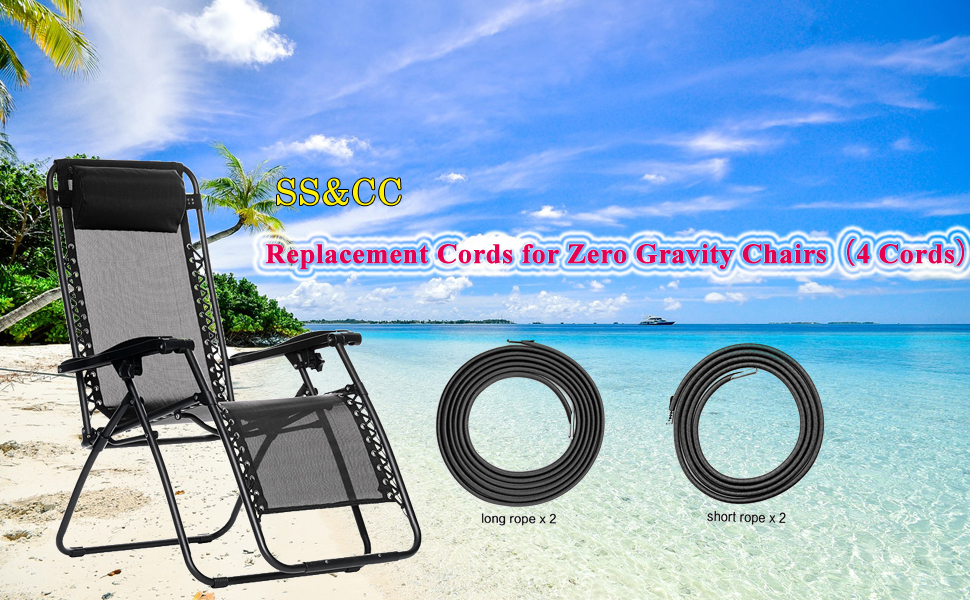 Superb Sscc Zero Gravity Chair Replacement Cords 4 Cords Anti Gravity Chairs Replacement For Chair Repair Elastic For Lawn Chair Patio Recliner Chair Pabps2019 Chair Design Images Pabps2019Com