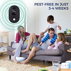 Mefru ultrasonic pest repeller