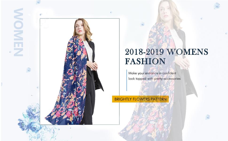 2018-2019 New Women Fashion Scarf