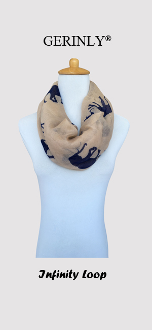 Cute Elephant Printed - GERINLY Animal Style Scarves