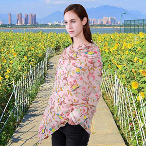 GERINLY scarf women scarf for spring shawls and wrap neck scarf head tie chic accessory for ladies