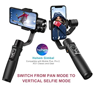 Zhiyun Smooth X Smartphone Estabilizador de Card/án para iPhone 11 Pro Xs Max Xr X 8 Plus 7 6 SE Android Samsung Galaxy S10 Huawei Vivo Cell Phone Vlog Kit Selfie Stick Extensible YouTube TIK Tok V/ídeo