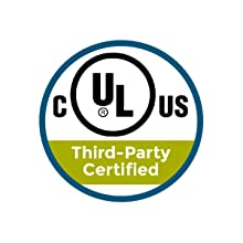 Third-party certified, UL