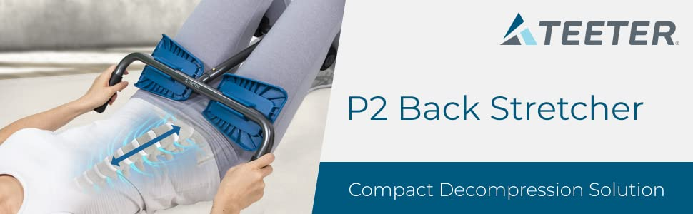 Teeter P2 Back Stretcher Compact Decompression Solution