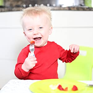 Doddl Baby Cutlery for Babies 6 Spoon and Fork Set for weaning and to /& Months