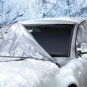 Windshield Cover For Ice And Snow Wiper Protector Non Scratch Magnetic Sturdy