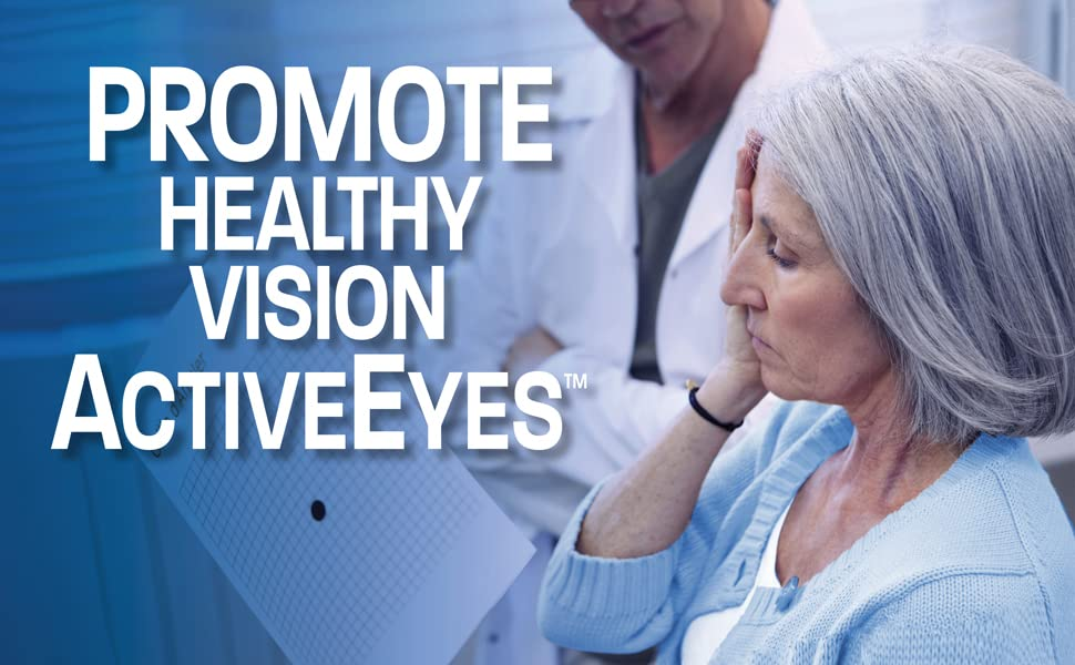 Promote healthy visions with active eyes