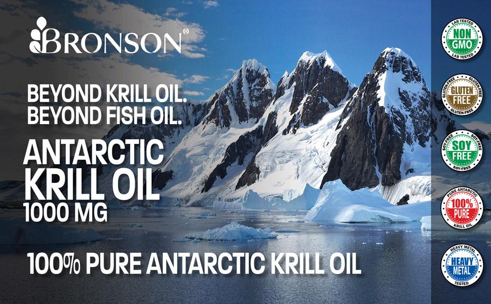 Bronson Antarctic Krill Oil 1000mg