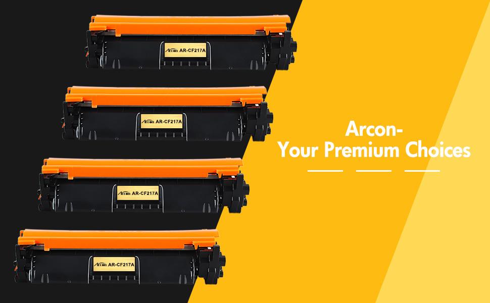 Arcon Compatible Toner Cartridge Replacement for HP 17A CF217A M130nw HP  M102w Toner Cartridge HP M130fw Pro M102w HP Laserjet Pro MFP M130nw MFP