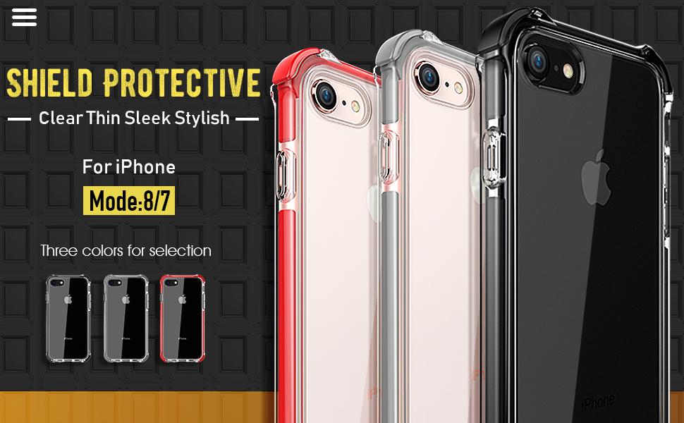 Amazon.com: Mateprox - Carcasa para iPhone 8 y iPhone 7 ...