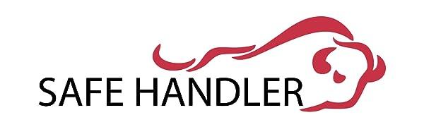 Image of Bison Life's Safe Handler logo with the bison bull.