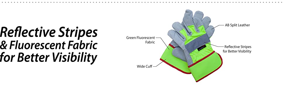 Image of Reflect Pro Rigger gloves by Safe Handler with detailed information on the material.