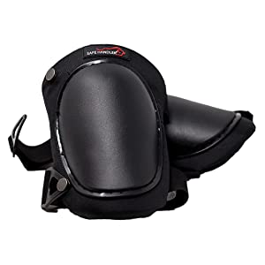 Image of Professional Hard Cap Knee Pads on White Background