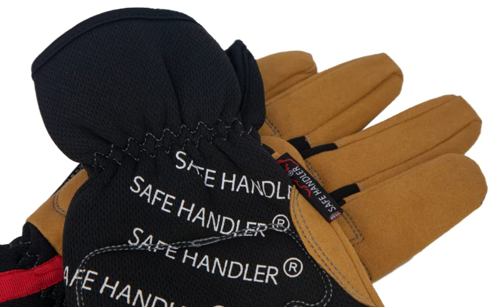 Image of a pair of Safe Handler Handyman Work Gloves.