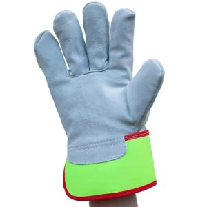 Image of the palm of Reflect Pro Rigger Gloves.