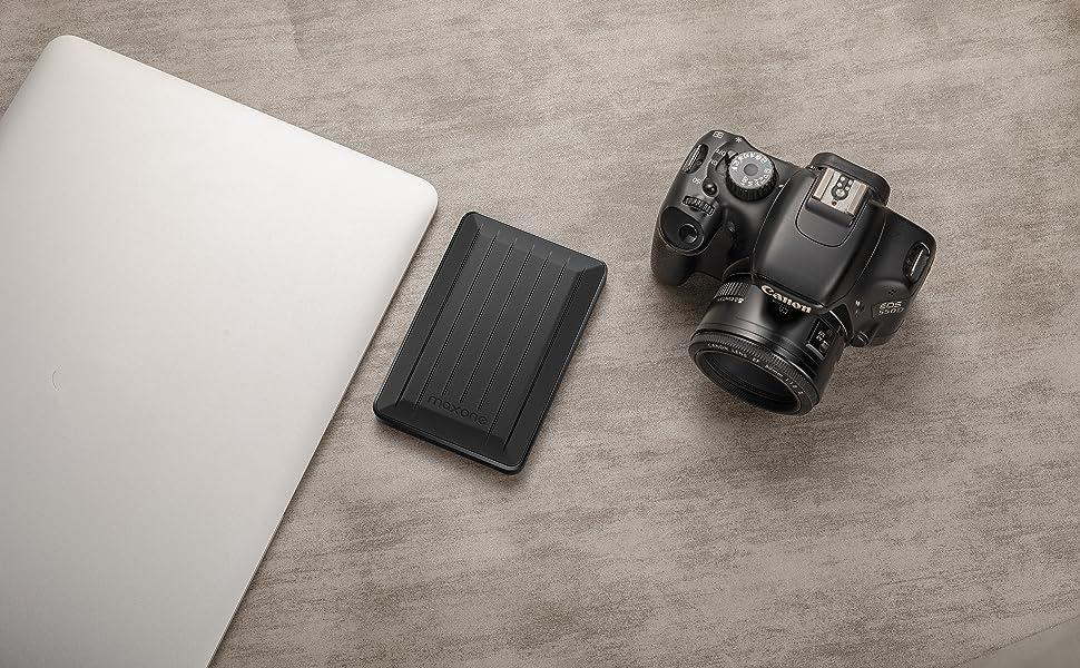 320GB External Hard Drive Portable - Maxone Upgrade Portable HDD USB 3 0  for PC, Laptop, Mac, Xbox one, PS4, Chromebook, Smart TV - Black