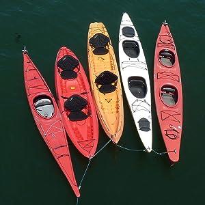 Boat Kayak Canoe Paddle Leash Safety Fishing Rod Pole Accessory JJ