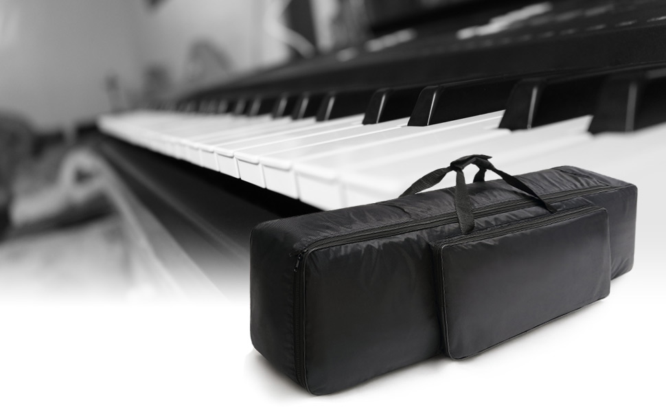 Amazon.com: NKTM - Teclado de piano eléctrico, bolsa de 88 ...