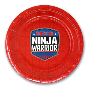 Amazon.com: American Ninja Warrior - Vasos de papel (10 ...