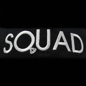 squad close up stitching