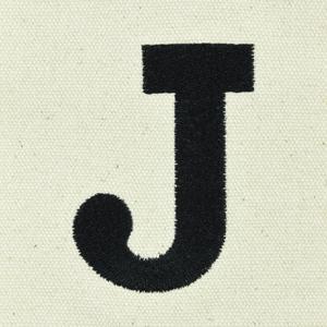 letter J custom font