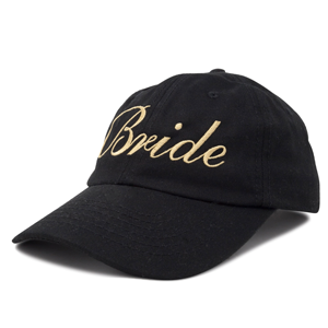 side view 100% cotton hat