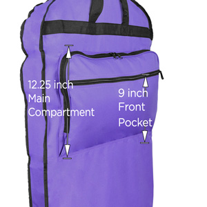 GB-001-Purple Garment Bag