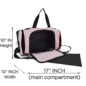 DF-019-Pink Main Compartments