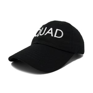 squad hat size view 100% cotton
