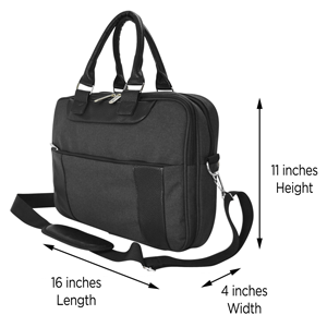 briefcase overall dimensions