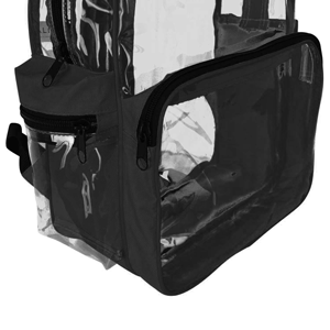 Amazon.com: DALIX Clear Backpack with Smooth Plastic