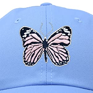 H-201-Butterfly-1 Up Close and Quality Stitching