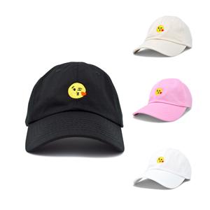 e608e66cc14 Amazon.com  DALIX Kiss Emoji Hat Dad Hats Cute Baseball Cap for ...