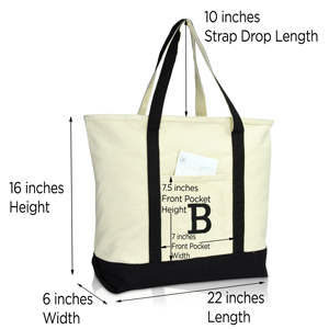 sizing and drop handle dimensions