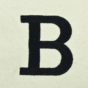 letter B custom font