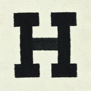 letter H custom font