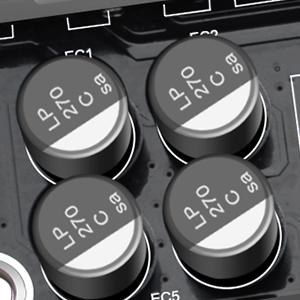 8 Solid Capacitors