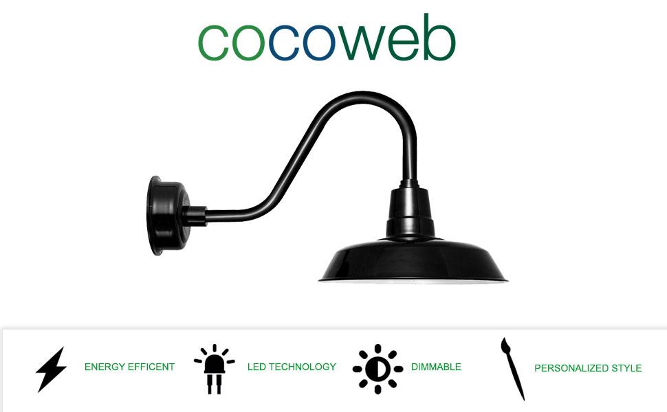 Amazon.com: cocoweb 18 inch oldage Shades LED montado en la ...