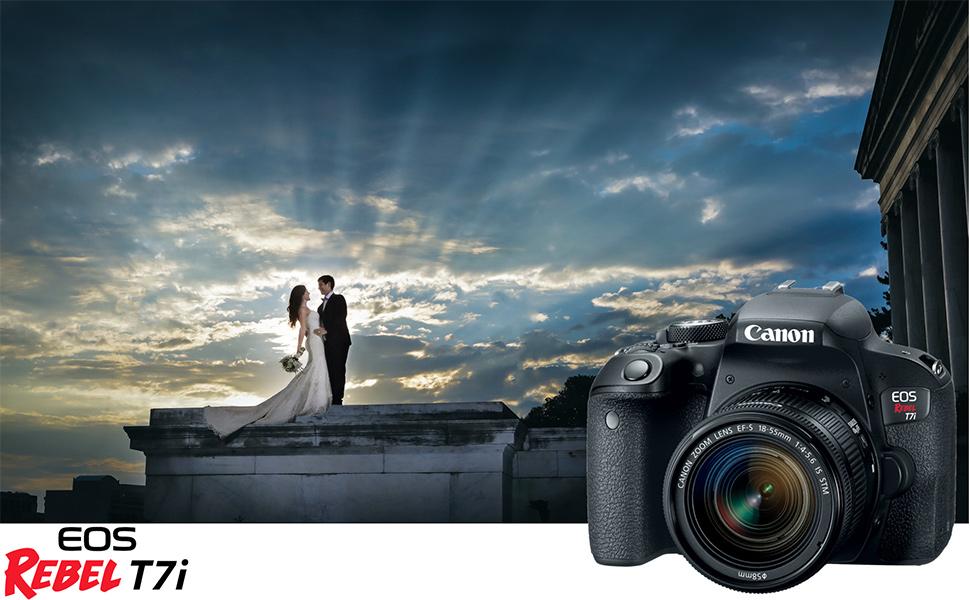 Amazon Com Canon Eos Rebel T6i 24 2 Mp Dslr Camera 18