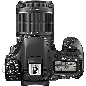 Amazon Com Canon Eos 80d Digital Slr Kit With Ef S 18