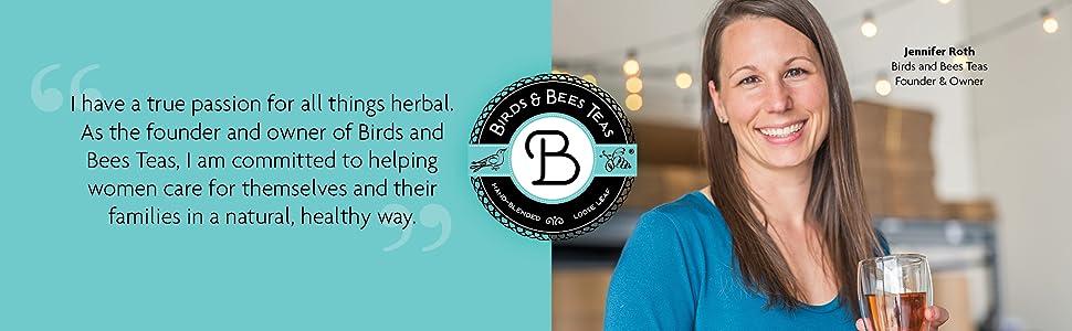 Herbal Birds Bees Teas women organic pregnancy safe loose leaf tea prenatal friendly healthy natural