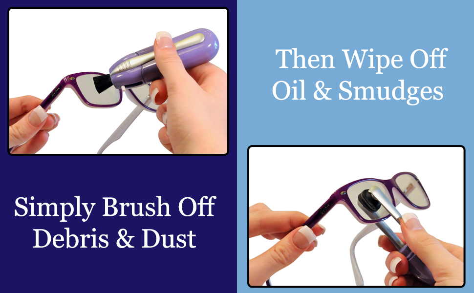 Do you wish you had an eyeglass cleaner that was easy to use?
