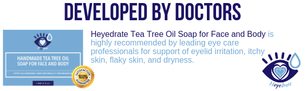 Developed by doctors Heyedrate tea tree oil soap for face and body